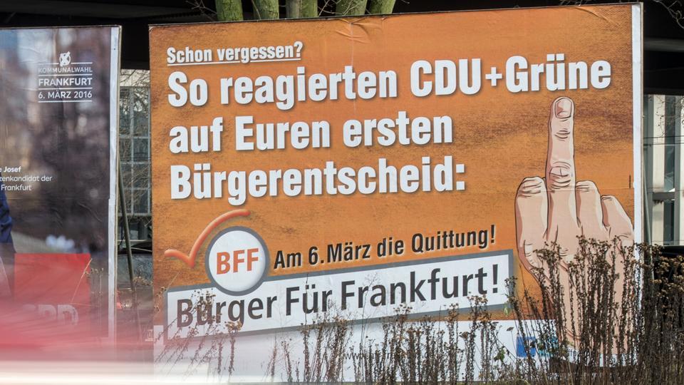 Rechtspopulisten und Migranten-Partei schmieden ungleiche Frankfurter Römer-Fraktion