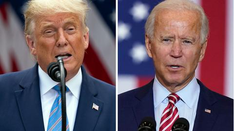 Joe Biden und Donald Trump US-Wahl 2020
