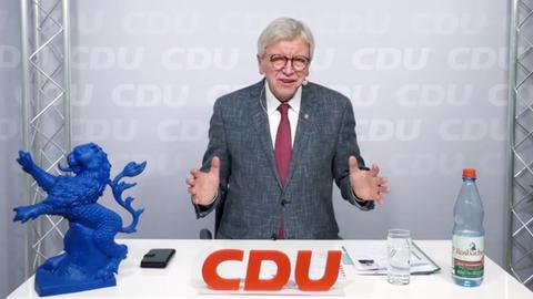 """Bouffier bei der CDU-Veranstaltung """"Auf ein Wort"""""""