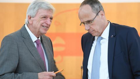 Volker Bouffier und Peter Beuth