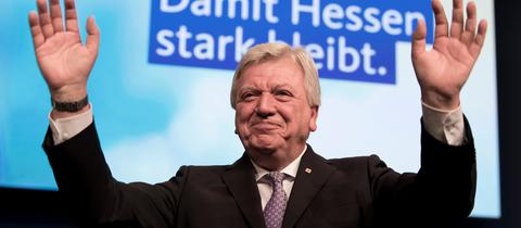 Volker Bouffier beim CDU-Parteitag.