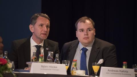 Björn Höcke und Torben Braga