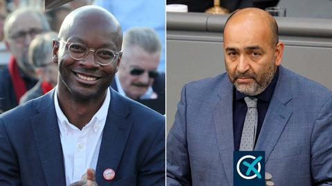 Armand Zorn (SPD, l.) und Omid Nouripour (Grüne)