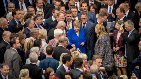 Abstimmung über die Ehe für alle im Bundestag