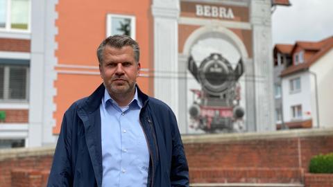 Bürgermeister von Bebra Stefan Knoche
