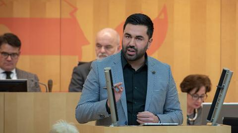 Taylan Burcu, Landtagsabgeordneter der Grünen.