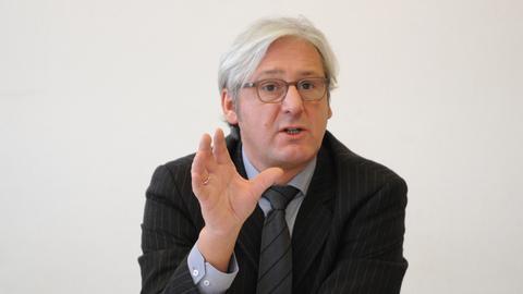 Jochen Partsch, grüner Oberbürgermeister von Darmstadt.