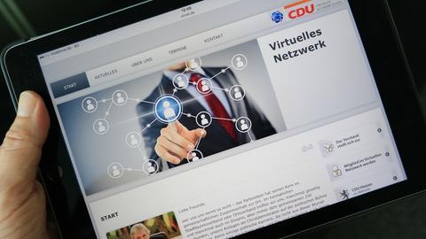 Virtueller Ortsverband der CDU Hessen