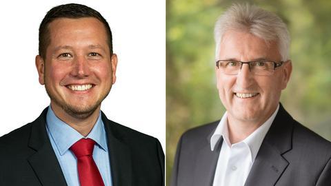 Alexander Kreissl (li.) und Hans-Jürgen Wickenhöfer.