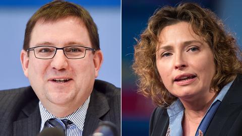 Stefan Ruppert und Nicola Beer