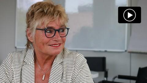 Daniela Wagner, Spitzenkandidatin der Grünen in Hessen bei der Bundestagswahl