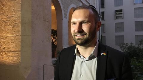 AfD-Politiker Dimitri Schulz bei einer Delegationsreise in Israel