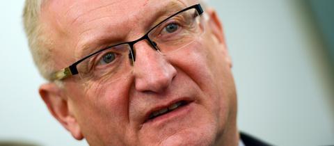 Der hessische Sozial-Staatssekretär Wolfgang Dippel (CDU)