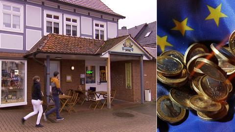 """Gefördert mit Gelder der EU: der Regionalladen """"Worschtkopp"""" in Bad Wildungen"""