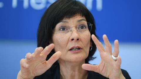 Landtagsabgeordnete Eva Goldbach von den Grünen