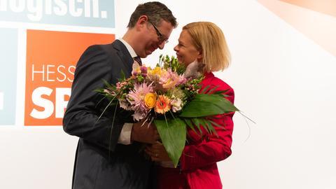 Faeser und Schäfer-Gümbel