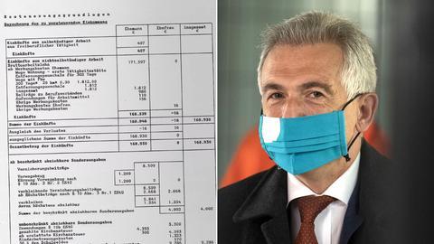 Peter Feldmann hat seinen Steuerbescheid  veröffentlicht