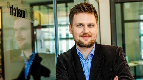 Foodwatch-Geschäftsführer Martin Rücker