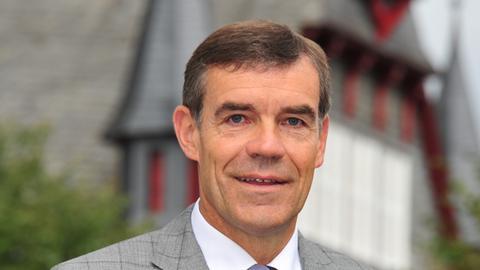 Hartmut Spogat (CDU) - Bürgermeisterwashl - Fritzlar