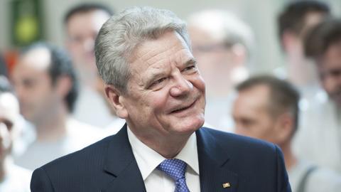 Joachim Gauck soll die Leuschner-Medaille erhalten.