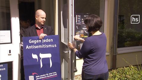 Kasseler Initiative druckt Plakate gegen rechten Wahl-Slogan