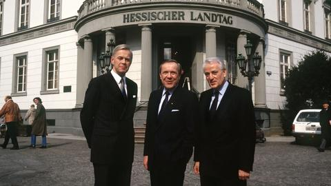 Gottfried Milde , Walter Wallmann, Manfred Kanther.