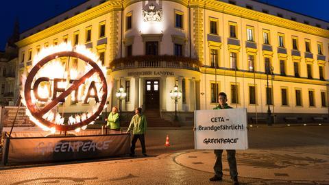 Greenpease Landtag