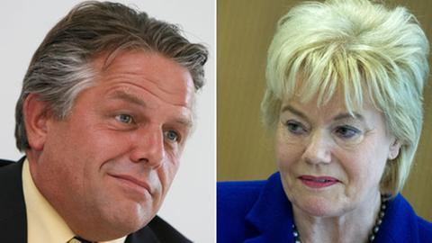 Neinsager: Klaus-Peter Willsch und Erika Steinbach (beide CDU
