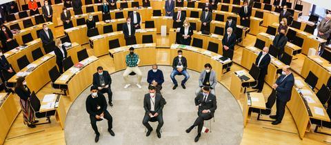 Gedenkveranstaltung im Wiesbadener Landtag