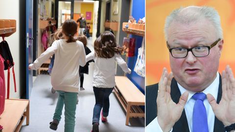 Kinder im Kindergarten, Schäfer