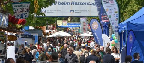 Hessentagsstraße in Hofgeismar 2015