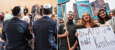 Protest gegen JAfD-Gründung