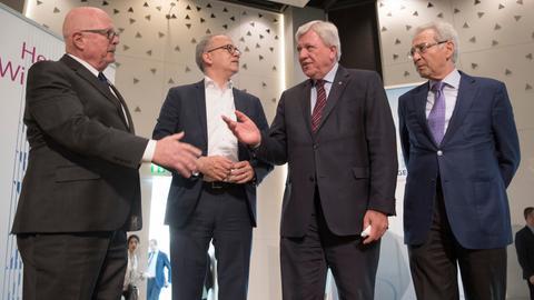 Kabinett tagt bei Jüdischer Gemeinde Frankfurt