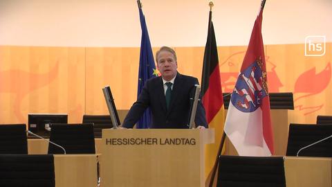 Landeswahlleiter Wilhelm Kanther