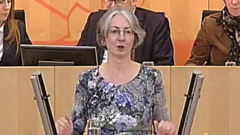 Karin Müller, Grüne, Landtag Wiesbaden
