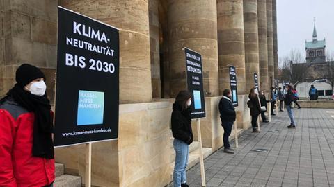 Kassel Klima Protest Stavo