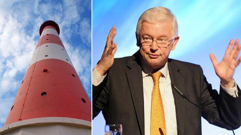 Leuchtturm, früherer Ministerpräsident Roland Koch