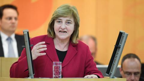 Justizministerin  Eva Kühne-Hörmann