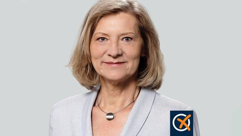 Portrait von Anita Schneider.