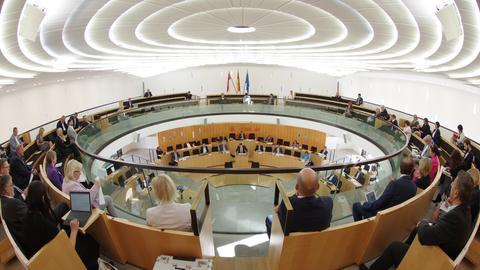 Sondersitzung Landtag