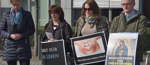 Abtreibungsgegner Frankfurt
