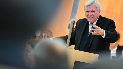 Ministerpräsident Bouffier im Landtag