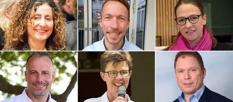Sechs neue Landtagsabgeordnete
