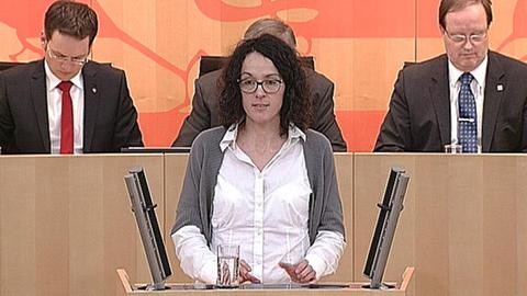Angela Dorn (Grüne) Landtag Windkraft
