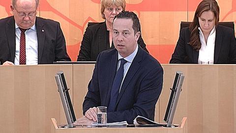 Florian Rentsch (FDP) Landtag Windkraft