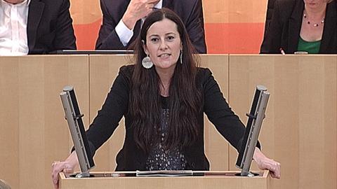 Janine Wissler (Linke) Landtag