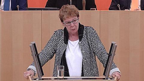 landtag-schulkuerzungen-Barbara Cárdenas (Linke)