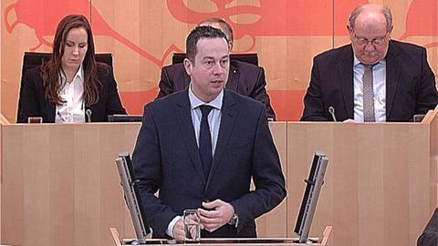 landtag-schulkuerzungen- Florian Rentsch (FDP)