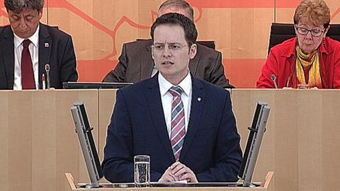 regierungserklaerung-digitales-hessen Tobias Eckert (SPD)
