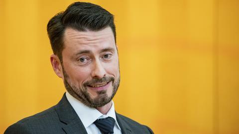 """Landtagsabgeordneter und """"Flügel""""-Anhänger: Der hessische AfD-Politiker Andreas Lichert."""